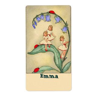Pegatinas de /Bookplate del letrero con imagen del Etiquetas De Envío