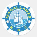 Pegatinas de Navegantes del Magallanes Large Pegatina Redonda