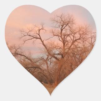 Pegatinas del corazón I, naturaleza del corazón de Pegatina En Forma De Corazón