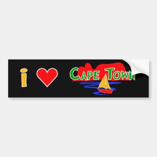 Pegatinas para el parachoques de Cape Town del