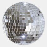 Pegatinas reflejados de la bola de discoteca