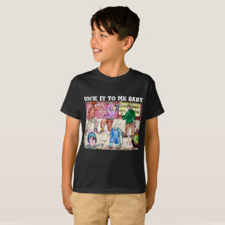 Pegúelo a mí camiseta del diseñador de los bebés