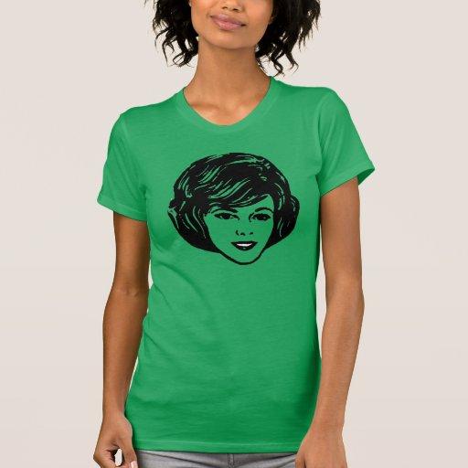peinados de los años 60 camiseta