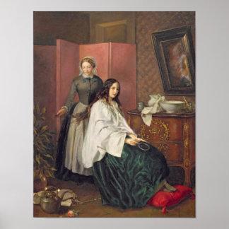 Peinar a Tresses de mi señora Póster