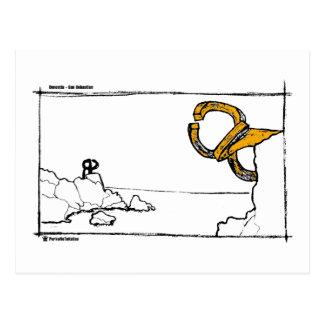 peine de los vientos 2 postal
