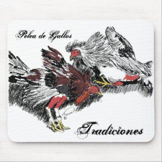 Pelea de Gallos, Tradiciones Alfombrilla De Ratón