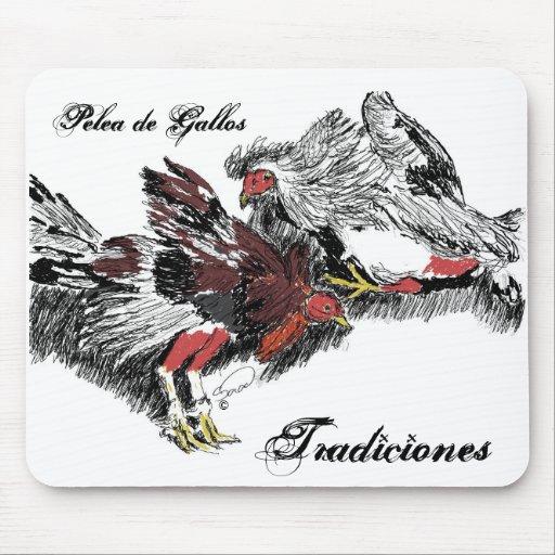 Pelea de Gallos, Tradiciones Tapetes De Raton