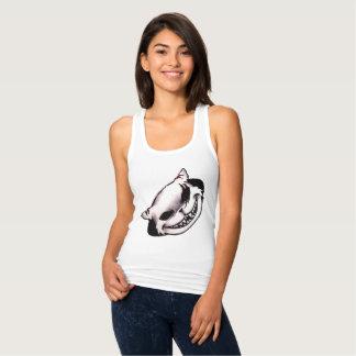 Pelea de gatos camiseta con tirantes