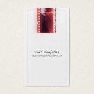 Película fresca de la cámara del fotógrafo del tarjeta de negocios