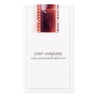 Película fresca de la cámara del fotógrafo del tarjetas de visita