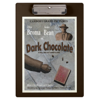 Película oscura del chocolate