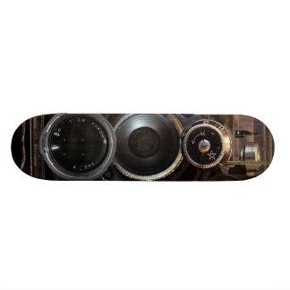 Película vieja de la cámara de la fotografía patin