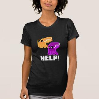 """Peligro """"ayuda de las jibias!"""" Camiseta para mujer"""