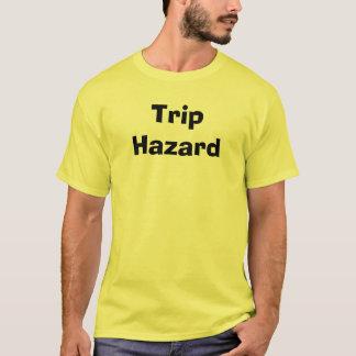 Peligro del viaje camiseta