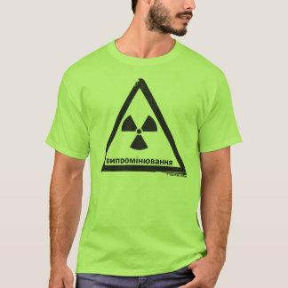 Peligro radiactivo (RUS) Camiseta
