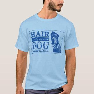Pelo de los amigos de great dane del perro camiseta