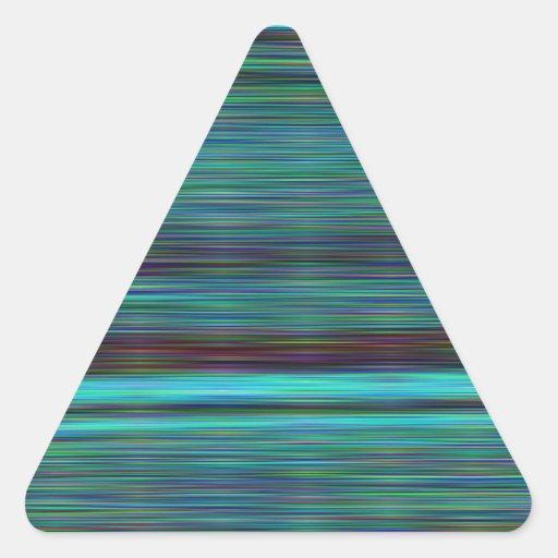 Pelo reconstruido del ángel calcomanías de triangulos personalizadas