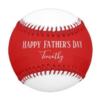 Pelota De Béisbol Día de padres feliz