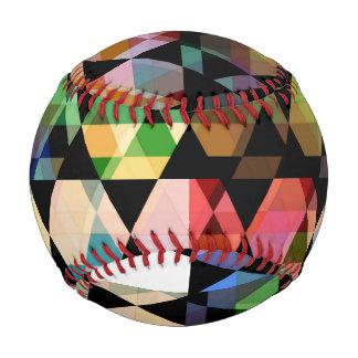 Pelota De Béisbol Diseño gráfico del hexágono abstracto