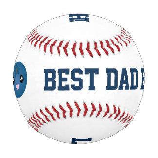 Pelota De Béisbol El mejor amor del día de padre del papá nunca