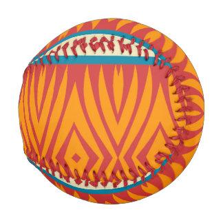 Pelota De Béisbol Formas en colores retros