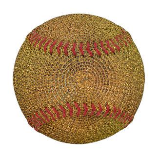 Pelota De Béisbol Modelo espiral del oro
