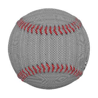 Pelota De Béisbol Pantalla de semitono - negro