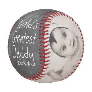 Pelota De Béisbol Personalizado de un día de padres por encargo