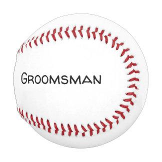 Pelota De Béisbol regalo personalizado del padrino de boda