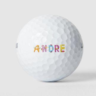 Pelota de golf de Andre