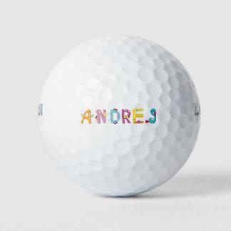 Pelota de golf de Andres