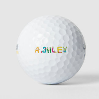 Pelota de golf de Ashley