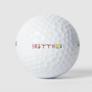Pelota de golf de Brittney