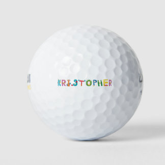 Pelota de golf de Kristopher