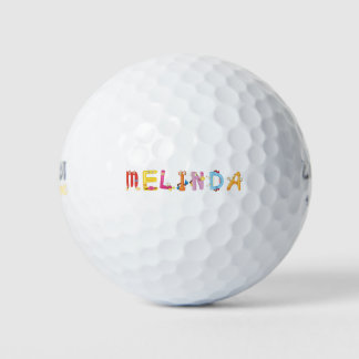 Pelota de golf de Melinda