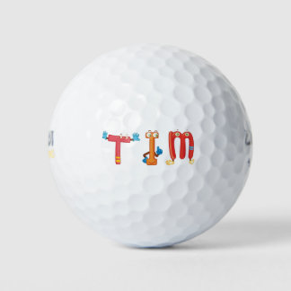 Pelota de golf de Tim