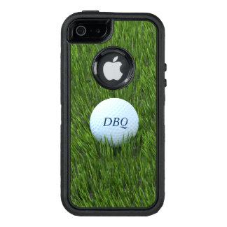 Pelota de golf en el áspero - personalizado funda OtterBox defender para iPhone 5