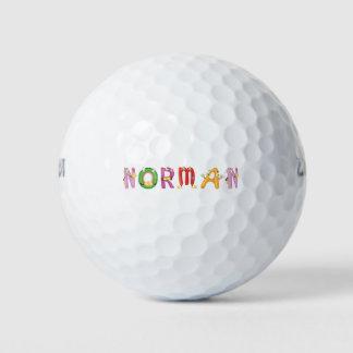 Pelota de golf normanda