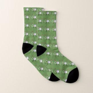 Calcetines Pelota de golf y calcetines de los clubs