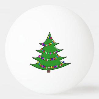 Pelota De Ping Pong Árbol de navidad del dibujo animado