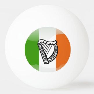Pelota De Ping Pong Bandera brillante irlandesa