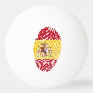 Pelota De Ping Pong Bandera de la huella dactilar del tacto del