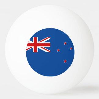 Pelota De Ping Pong Bandera de Nueva Zelanda