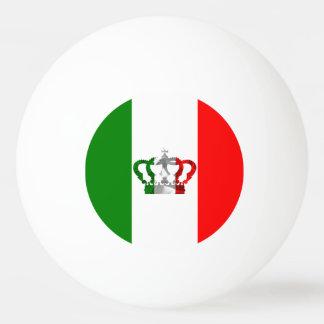Pelota De Ping Pong Bandera moderna del italiano de Italia de la