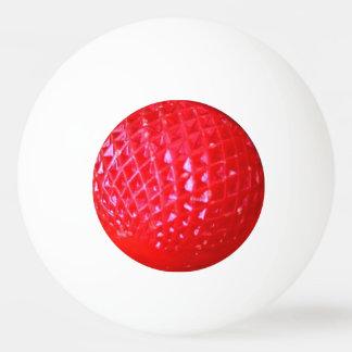 Pelota De Ping Pong Bombilla roja de navidad del LED