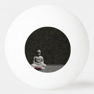 Pelota De Ping Pong Buda en sitio gris - 3D rinden