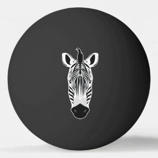 Pelota De Ping Pong Cara de la cebra
