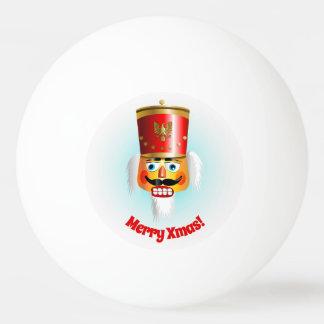 Pelota De Ping Pong Cascanueces divertido de Navidad