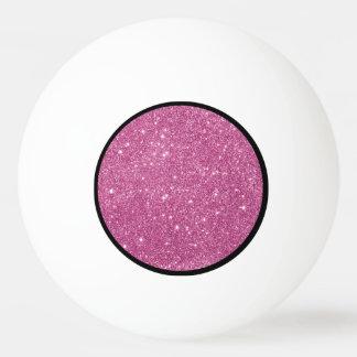 Pelota De Ping Pong Chispas del brillo de las rosas fuertes