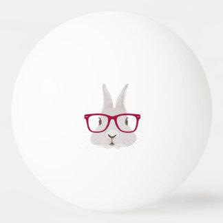 Pelota De Ping Pong Conejito de pascua divertido del inconformista con